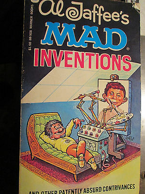 Mad -- Mad Inventions   1980's orig papeback edition