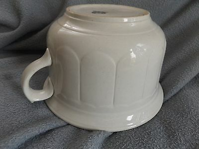 White CHAMBER POT Porcelain Ceramic Flower Pot Hallmarked Warranted