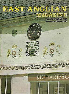 1979 OCT 52898 East Anglian Magazine Cover Picture  HADLEIGH SUFFOLK