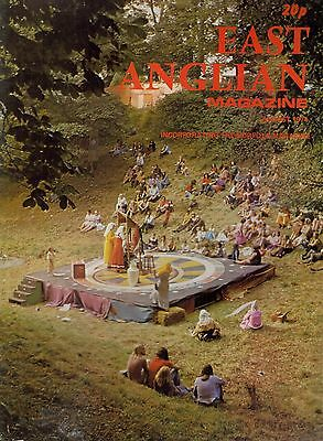 1974 AUGUST 52871 East Anglian Magazine Cover Picture  THE WORSTEAD FESTIVAL