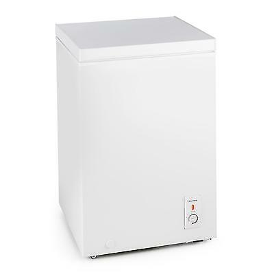 Freezer Chest Ice Cool Food Storage Frost Free 100L Space Saver A+ Kitchen Pub