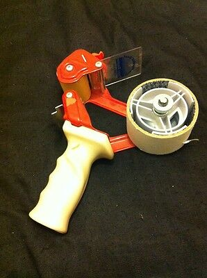 HAND HELD TAPE GUN DISPENSER & 1xTAPE ROLL FOR PARCELS PACKINGWAREHOUSE P&P