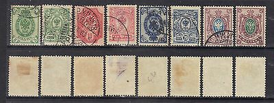 Finland 1901-16 small selection.