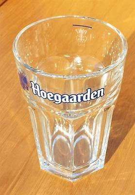Hoegaarden Pint to Line Pot / Beer Glass with Government Stamp. Alcohol / Drink