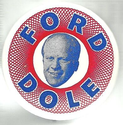 Gerald Ford Hard To Find Spirograph Design Political Pin