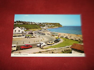 VINTAGE WALES: ANGLESEY Benllech Bay panorama colour CARS
