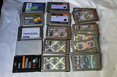 *** Job Lot Of 20 Pcmcia/ Token Ring Cards For Laptops ***