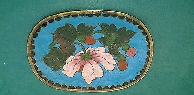 Super Quality Antique Oriental Cloisonne Enamel Pin Dish - Chinese/japanese?
