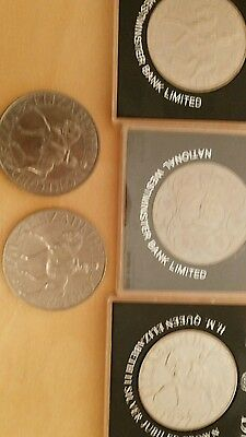 5 silver jubilee coins