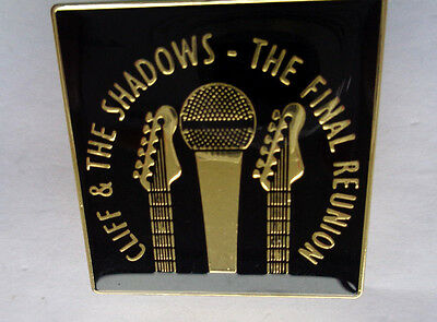 Cliff And The Shaddows -Final Reunion  Lapel Badge