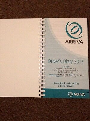 Arriva Bus Drivers Diary 2017