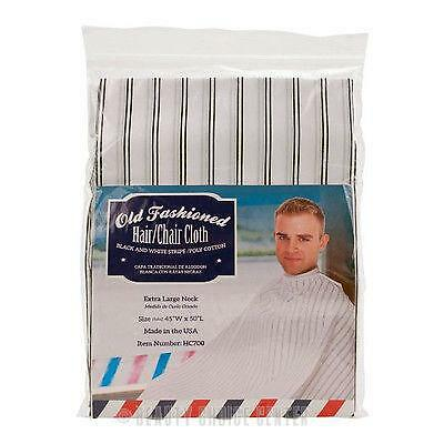 Old Fashion Cloth Styles Styling Cape Hair Salon Barber Shop No Velcro Or Snaps