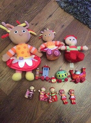 In The Night Garden Toy Bundle Ninky Nonk Train Figures Soft Toys