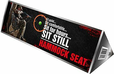 New Dead Ringer Hammock Seat Tree Camo Lightweight And Compact DR4460