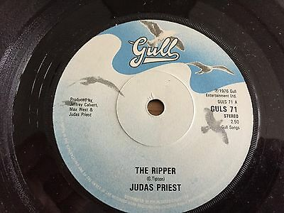 Judas Priest..the Ripper....rare Uk First Issue Single Gull Guls 71