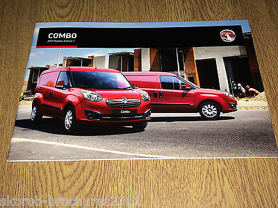 VAUXHALL - The Combo Sales Brochure 2017 Edition 1