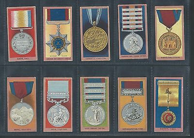 Wills Medals Full Set  In Sleeves Very Good