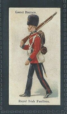 Bat Soldiers Of The World Leaf Back Great Britain Royal Irish Fusiliers