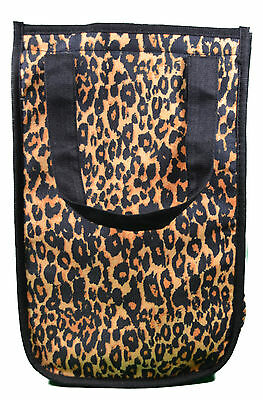 Leopard Fashion Insulated Lunch Tote Cooler Bag Recycled Environment Friendly