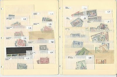 Honduras Unsorted Lot on 5 Stock Pages, Nice Collection to Pick Through