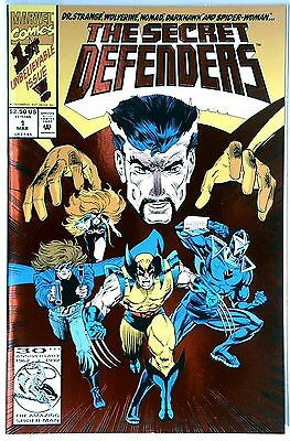 The Secret Defenders #1 - 1993 - Doctor Strange - Foil/card cover -  NM