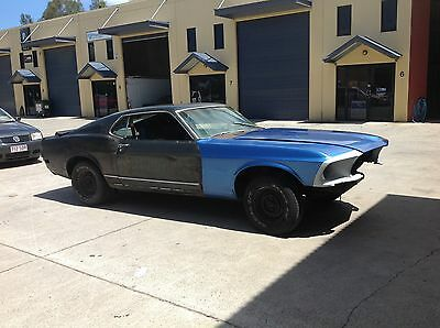 1970 Ford Mustang mach 1 fastback, cheap project car