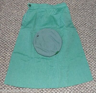 Vintage 1960s GIRL SCOUT BERET HAT in ORIGINAL BOX w/ SKIRT & GS PIN !!