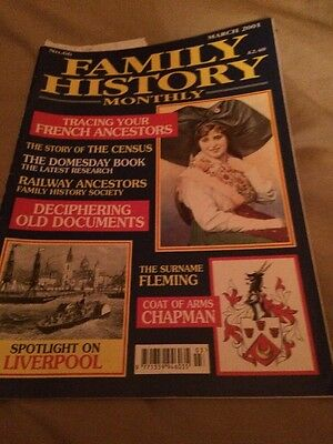 Family History Monthly March 2001