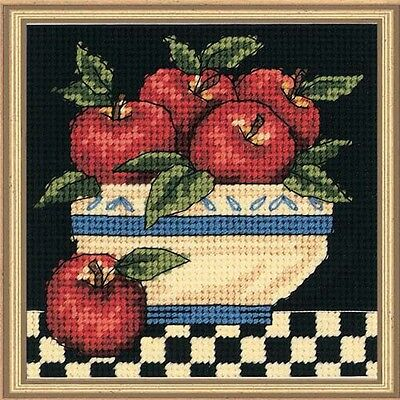 Needlepoint Kit A BOWL OF APPLES Dimensions
