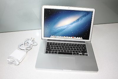 """Apple MacBook Pro A1286 15"""" Mid 2011 i7 2.0GHz 8GB 750GB Mountain Lion"""