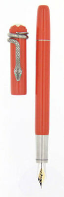 Montblanc 114725 Heritage Collection Rouge Et Noir Coral Fountain Pen New in Box
