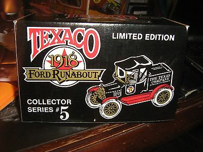 Ertl Texaco 1918 Ford Runabout Collector #5 RARE