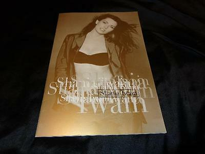 "Shania Twain *24-Page 10.5"" x 15"" Concert Tour Book With MANY Gorgeous Images!"