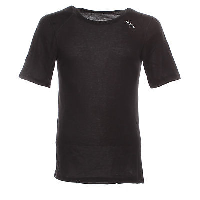 Odlo Warm Shirt Ss Crew Neck T-Shirt Intimo Uomo 152032 15000