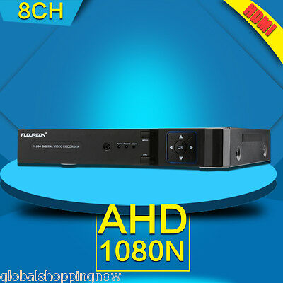 1080N 8 Channel HDMI Digital CCTV Video Recorder Network IP DVR Camera Security
