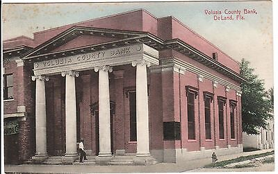 1910 The Volusia County Bank in DeLand, Fl Florida PC
