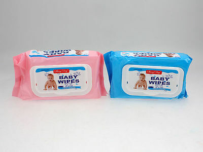 24 x Baby wipes 80 pack bulk wholesale lot that's 1,920 economy wipes