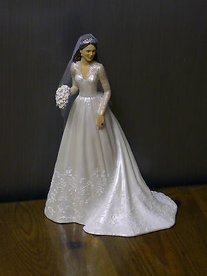 "Hamilton Collection ""cathrine,the Royal Bride"" - Figurine - Boxed / Brand New"