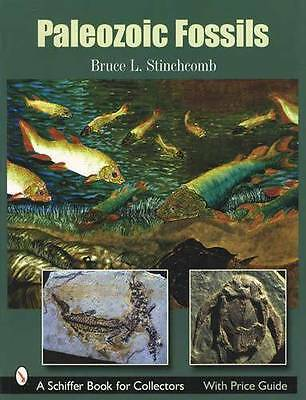 Paleozoic Fossils Collector ID Guide incl Fish, Mississipian Period, Plants More