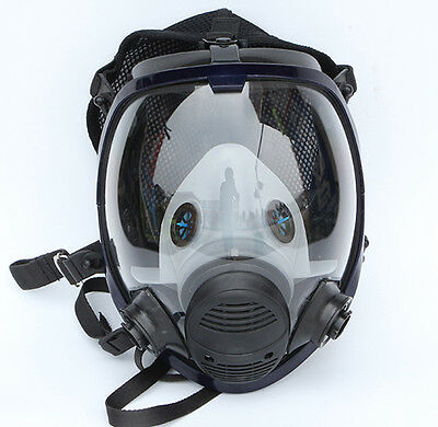 Painting Spraying Full Face Mask For 3M 6800 Gas Dust Facepiece Respirator Suit
