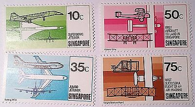 Singapore Aviation Mint/unused Stamps...worldwide Stamps