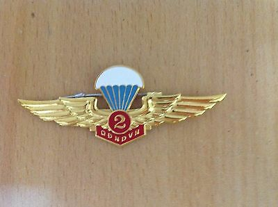 Vietnam army pin badge Parachute soldier, officer 2nd - 150 times to 499 times