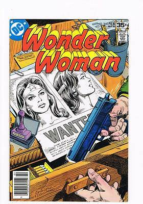 Wonder Woman # 240 Wanted: One Amazon Dead or Alive ! grade 6.5 hot book !!