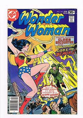 Wonder Woman # 242 Tomorrow's Gods and Demons ! grade 5.0 hot book !!