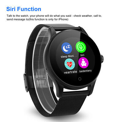 K88H Smart Watch Bluetooth Orologio Touchscreen Heart Rate Per Android IOS LG