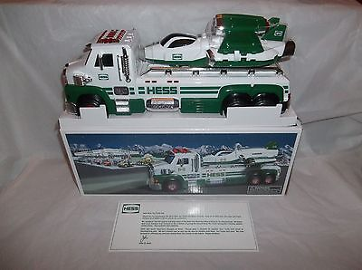 HESS 2014 50th ANNIVERSARY TOY TRUCK AND SPACE CRUISER WITH SCOUT NIB