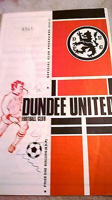 Dundee United v Aberdeen 1970/71 Scottish Cup