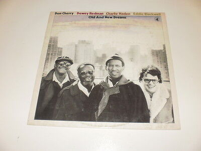 OLD AND NEW DREAMS - Cherry/Redman/Haden/Blackwell - LP 1977 BLACK SAINT ITALY