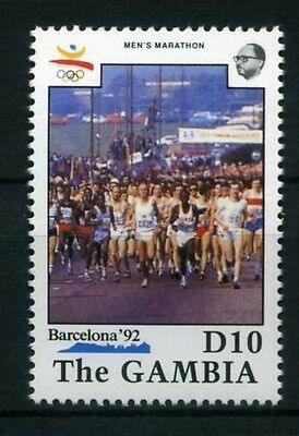 Gambia MiNr. 1076 postfrisch/ MNH Olympiade 1992 (Oly477