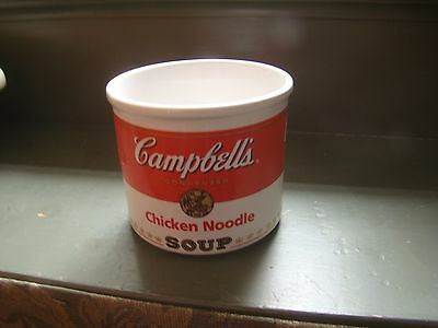 Campbell's Chicken Noodle Soup Large Mug 1998 Euc